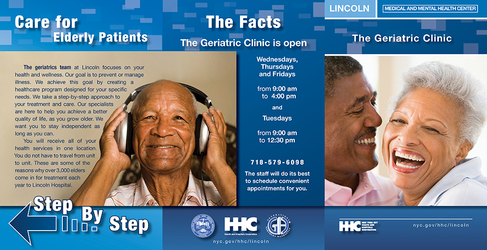 The Geriatric Clinic Brochure Cover
