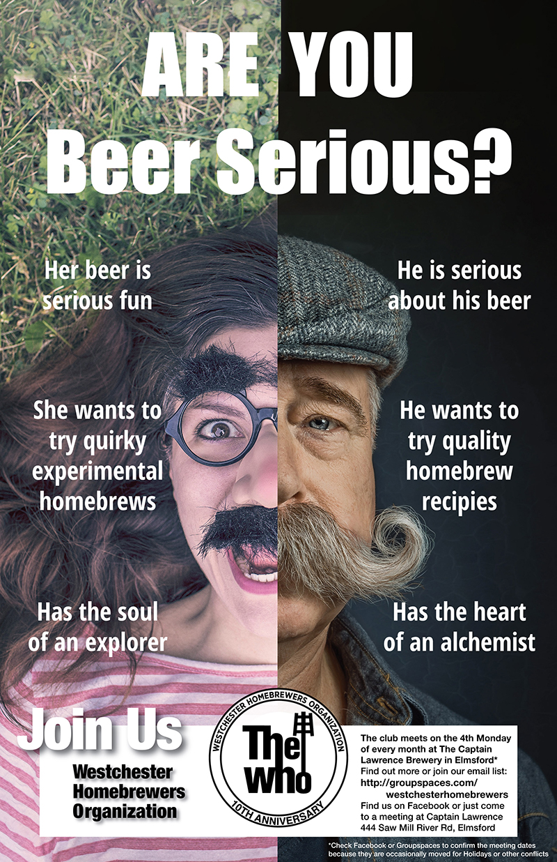 ARE YOU Beer Serious? Poster