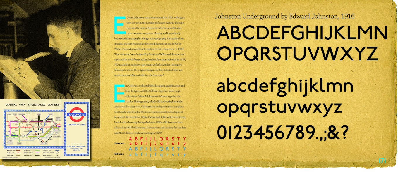 Johnston typeface