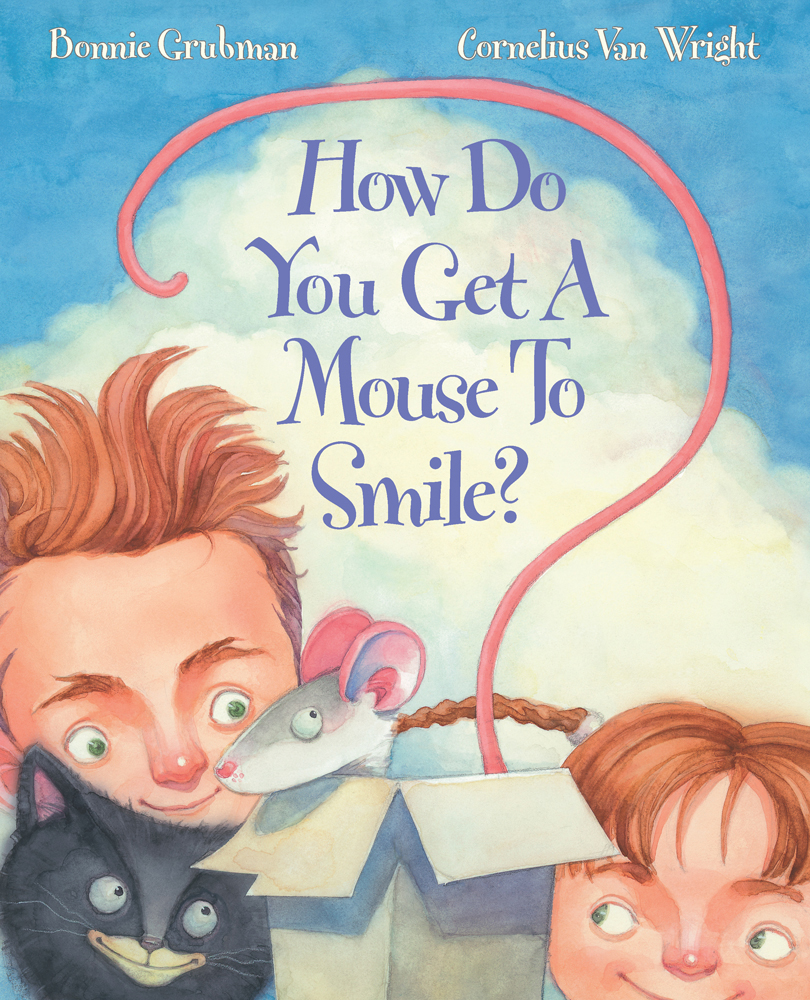 How Do You Get A Mouse To Smile? Bookcover